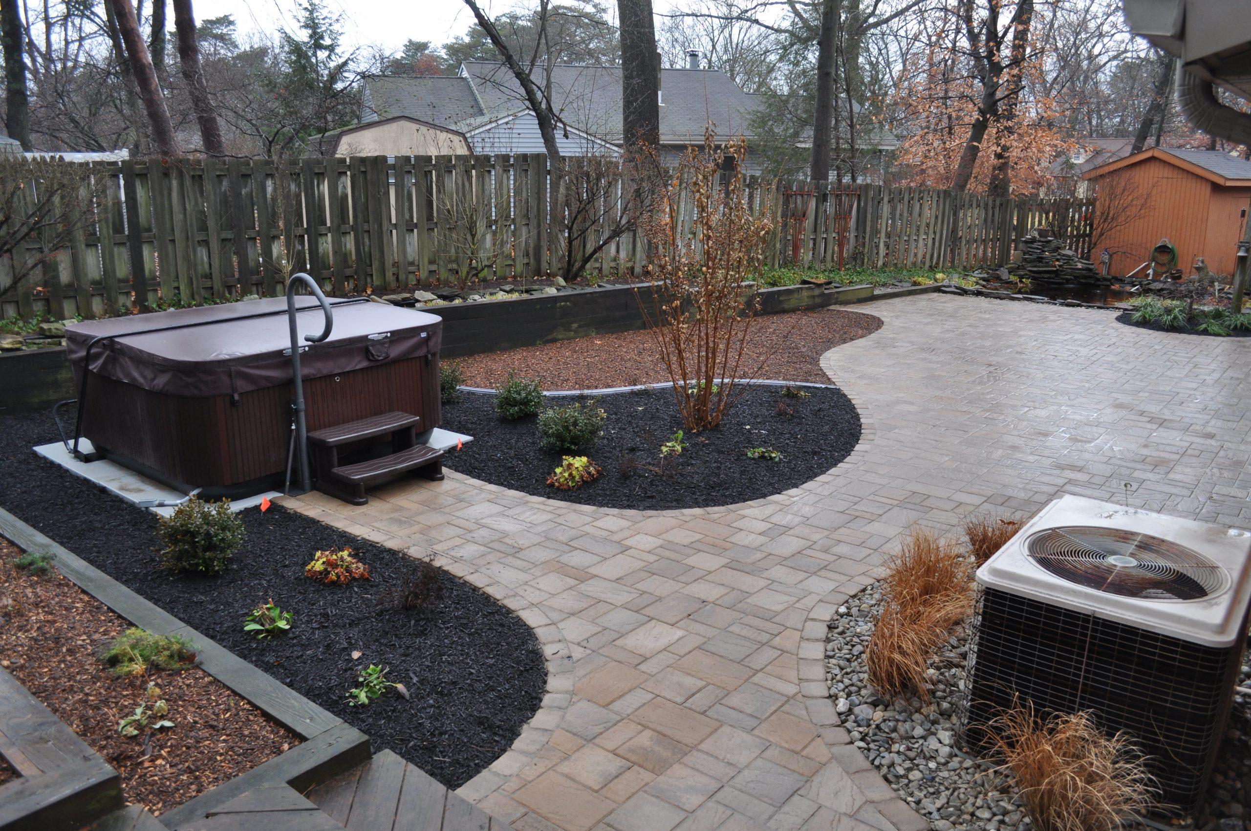 Backyard Landscape Design in Mount Laurel, NJ