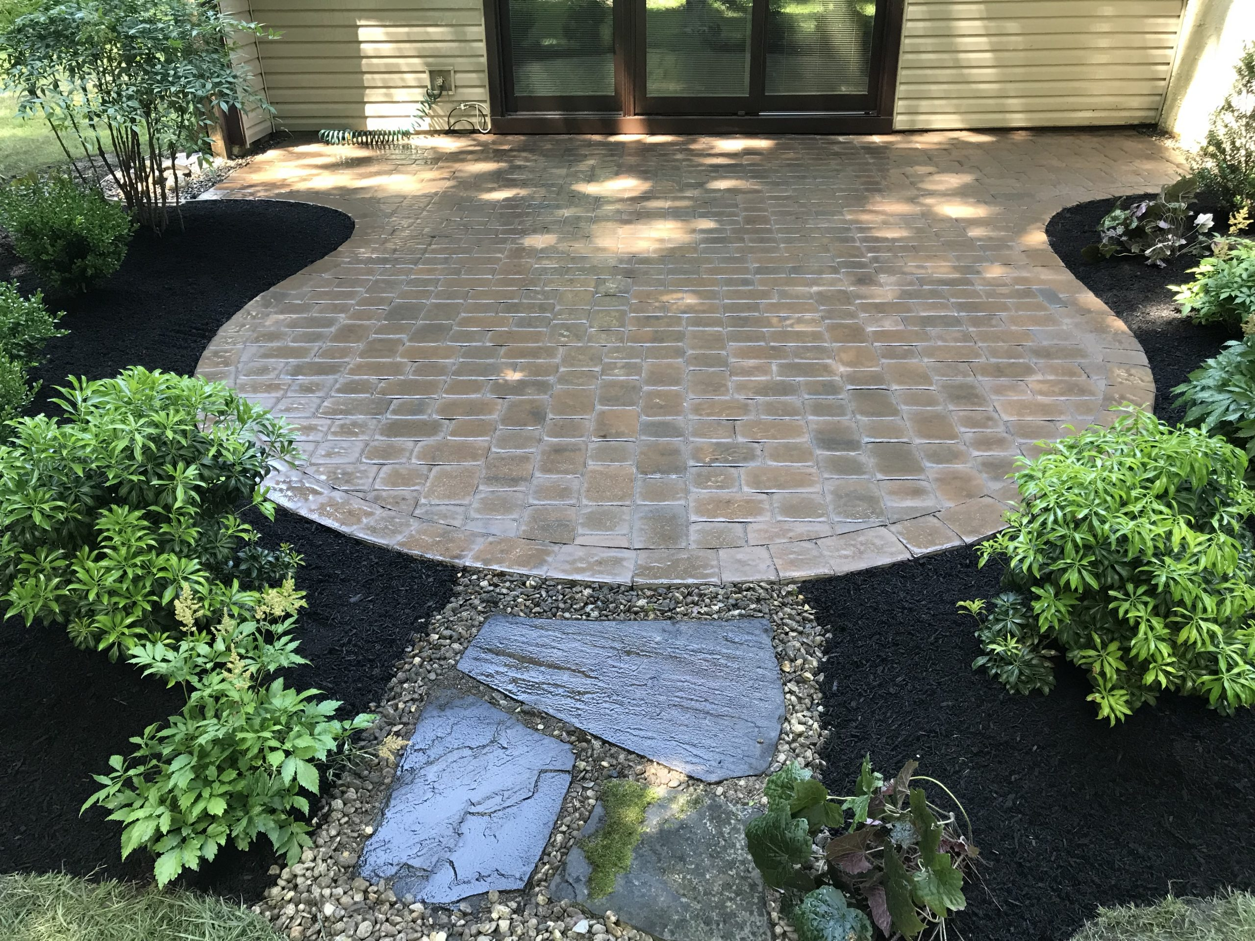 Patio and Landcaping in Mount Laurel