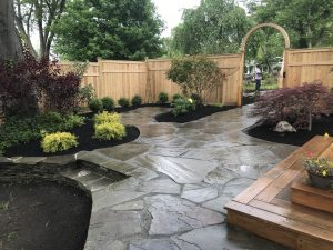 Flagstone Patio Design in Medford Lakes, NJ